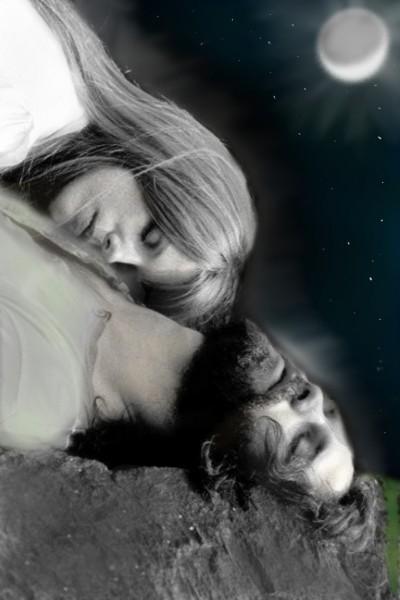Jim Morrison            Y      Pamela Courson   cesar   Digital Drawing   PENUP