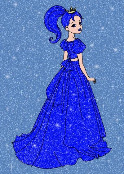 ブルー   プリンセス | Gaycouple | Digital Drawing | PENUP