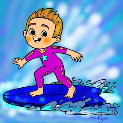 I want to ride it, too!♡ | ockja | Digital Drawing | PENUP