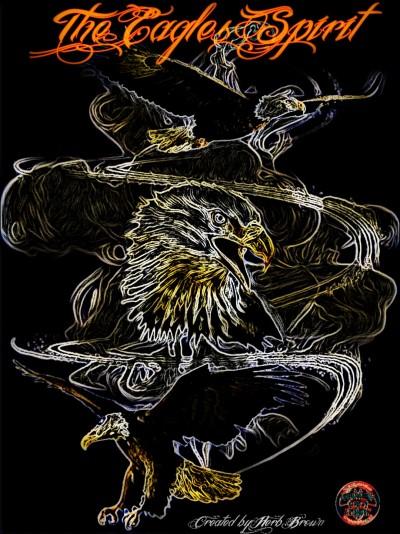 The Eagles Spirit  | Herbbrown1965 | Digital Drawing | PENUP