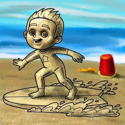 Beach | Mishanya | Digital Drawing | PENUP