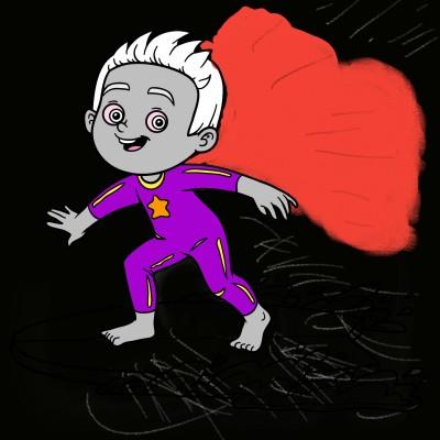 Dreams of Super Hero  | Eric | Digital Drawing | PENUP
