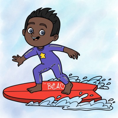 surfing | Joy.ARMY | Digital Drawing | PENUP