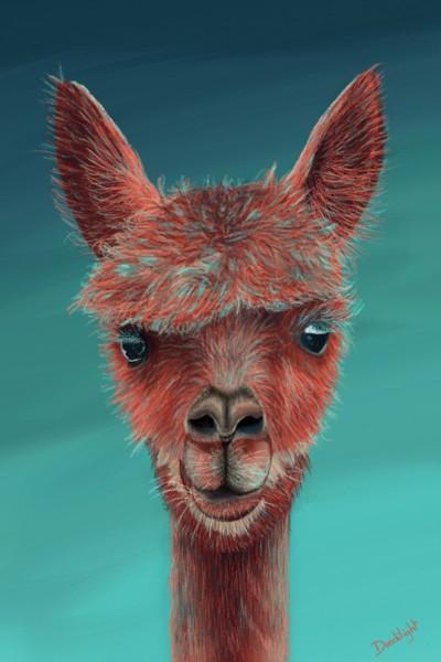 lamas  | Doodilight | Digital Drawing | PENUP