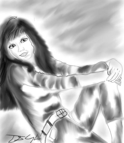 enjoying the day.  | Bluzie | Digital Drawing | PENUP