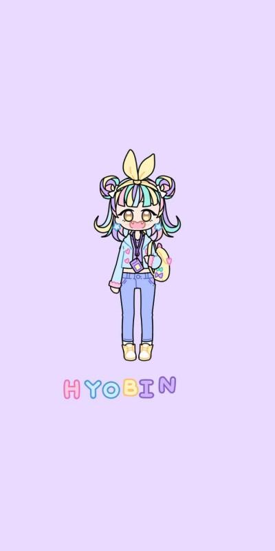 HYOBIN 이벤트 캐릭터 | Hayeon | Digital Drawing | PENUP