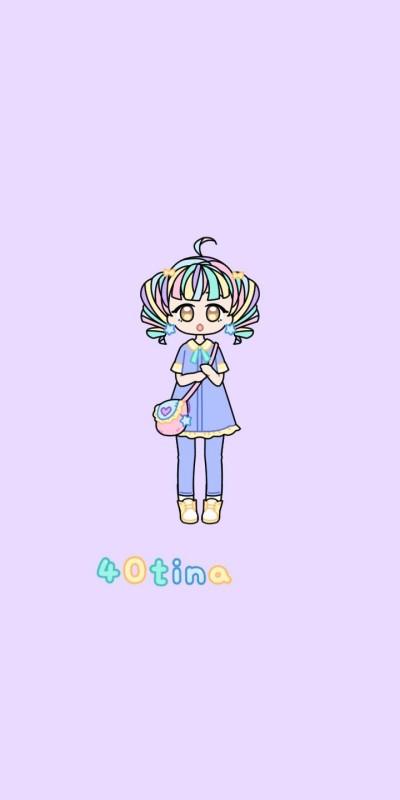 40tina 이벤트 캐릭터 | Hayeon | Digital Drawing | PENUP