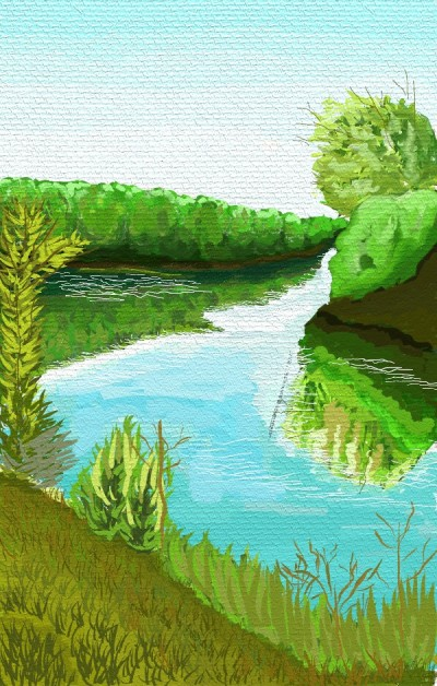 Franch Broad River | tinie | Digital Drawing | PENUP