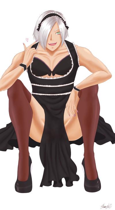 Kai (Maid Outfit) | Ghazal | Digital Drawing | PENUP