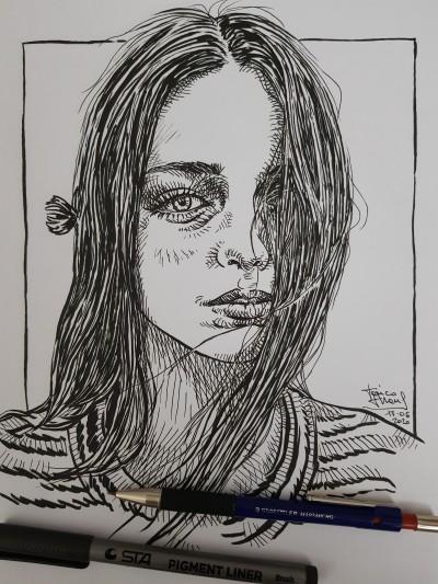 Nina  | jericojhones | Digital Drawing | PENUP