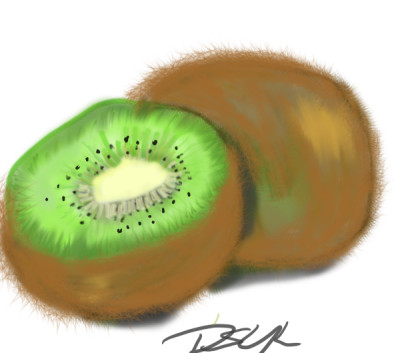 another fruit ..kiwi | Bluzie | Digital Drawing | PENUP