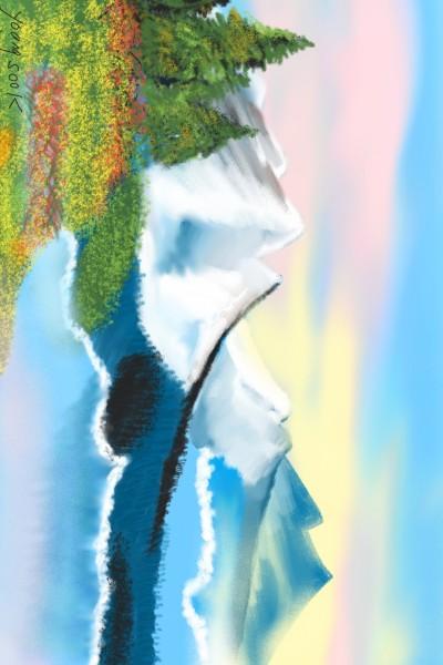 49겨울과봄의경계 At the border of winter and spring  | youngsook | Digital Drawing | PENUP