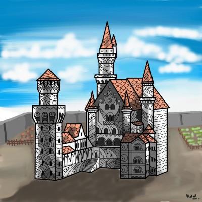 castle | tinie | Digital Drawing | PENUP