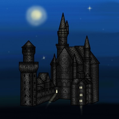 Castle | JammyC | Digital Drawing | PENUP