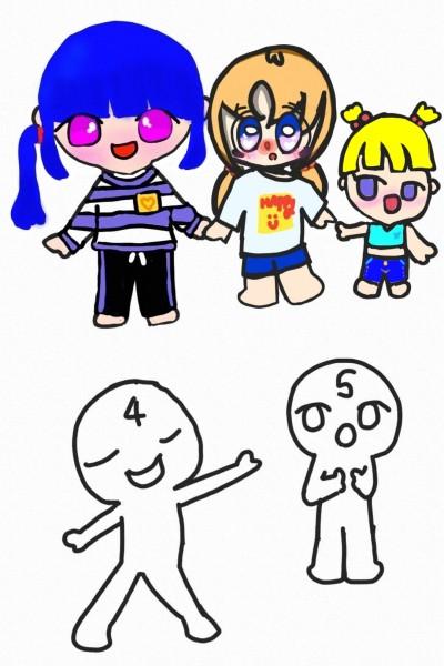 아이스크림팀 합작 | ddo-ni | Digital Drawing | PENUP