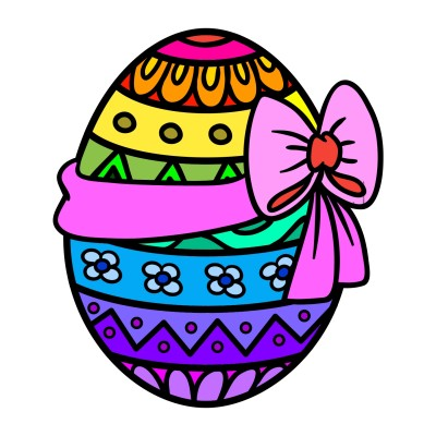My Rainbow Easter Egg | Candy | Digital Drawing | PENUP