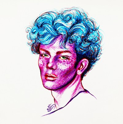 #violet boy... | sitaArt | Digital Drawing | PENUP