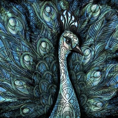 Peacock Variation  | LisaBme | Digital Drawing | PENUP