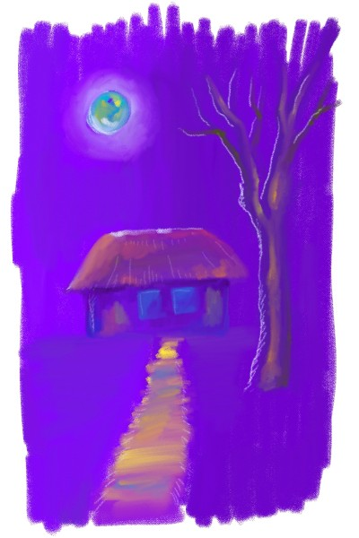 cottage | Dal | Digital Drawing | PENUP