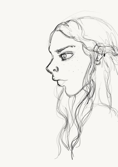 Character Digital Drawing   MissHelenJune   PENUP