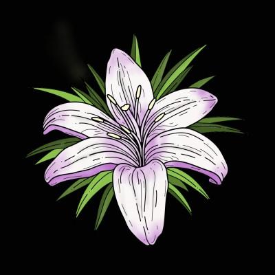 Coloring Digital Drawing | Mokoshla | PENUP