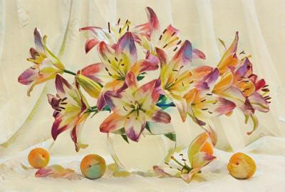 Flower vase | Sirianan | Digital Drawing | PENUP