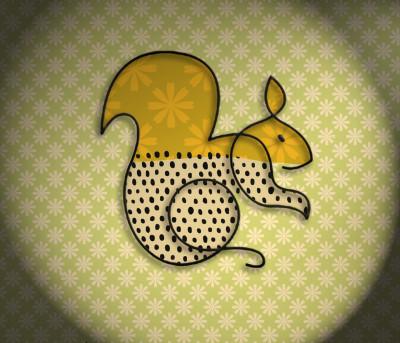 Squirrel | deser | Digital Drawing | PENUP