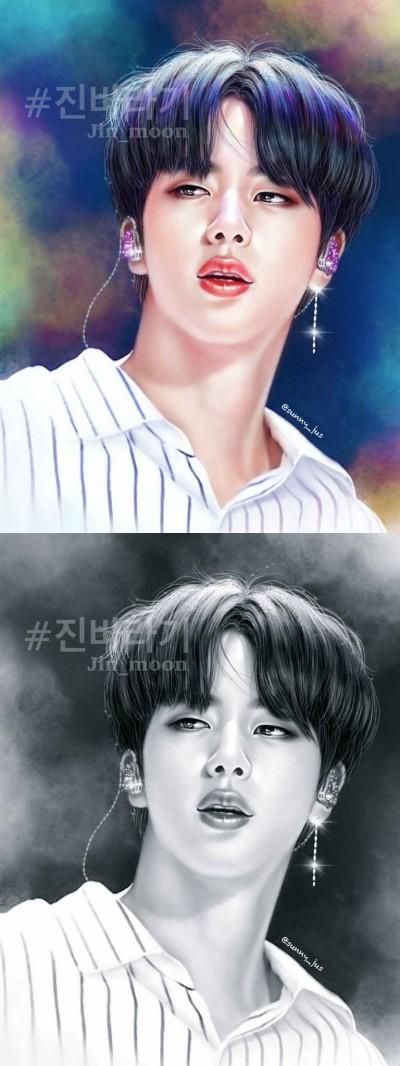 btsjin♡ | Sunny-jus | Digital Drawing | PENUP