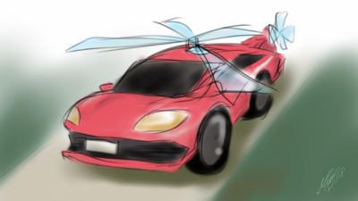 car+helecopter   Mise   Digital Drawing   PENUP