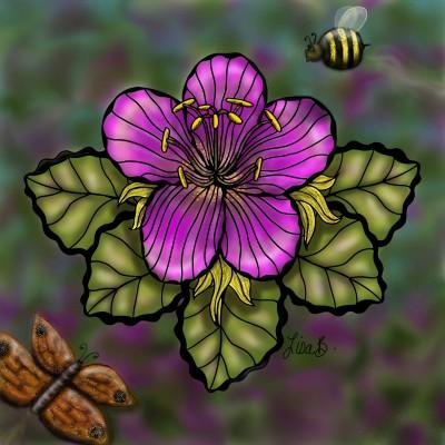 Best Flower Stop | LisaBme | Digital Drawing | PENUP