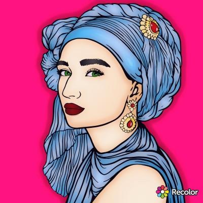 Portrait Digital Drawing   Zenovia   PENUP