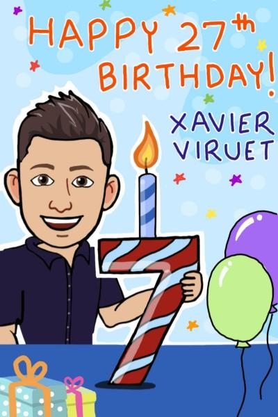 XavierViruet Happy Birthday!! | Prashant | Digital Drawing | PENUP