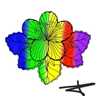 Flower | 123 | Digital Drawing | PENUP