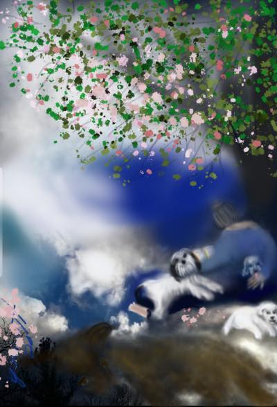 Dog heaven   whitehorse   Digital Drawing   PENUP