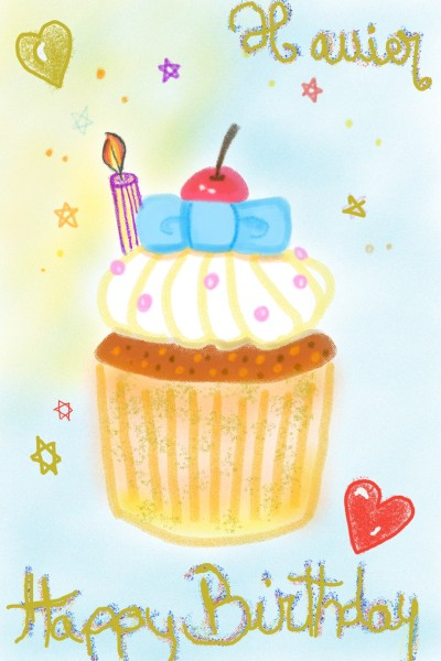 Happy Birthday Xavier ^-^ | Yagmur | Digital Drawing | PENUP