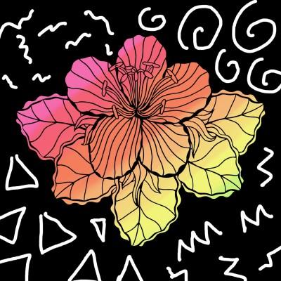 꽃 | siwoo | Digital Drawing | PENUP