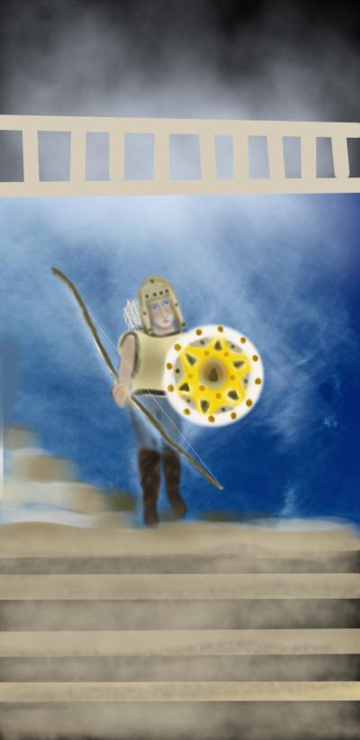 little warrior   whitehorse   Digital Drawing   PENUP