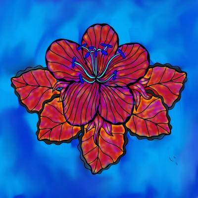 FLOWER | Tomcat | Digital Drawing | PENUP