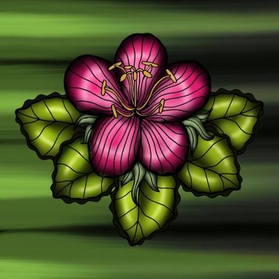 Flower | JammyC | Digital Drawing | PENUP