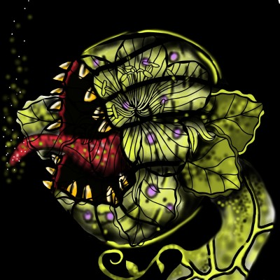 Venom Fly trap | SummerKaz | Digital Drawing | PENUP