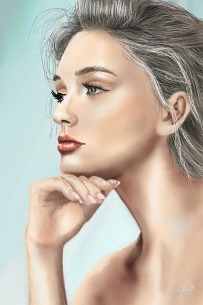 le regard lointain  | Doodilight | Digital Drawing | PENUP
