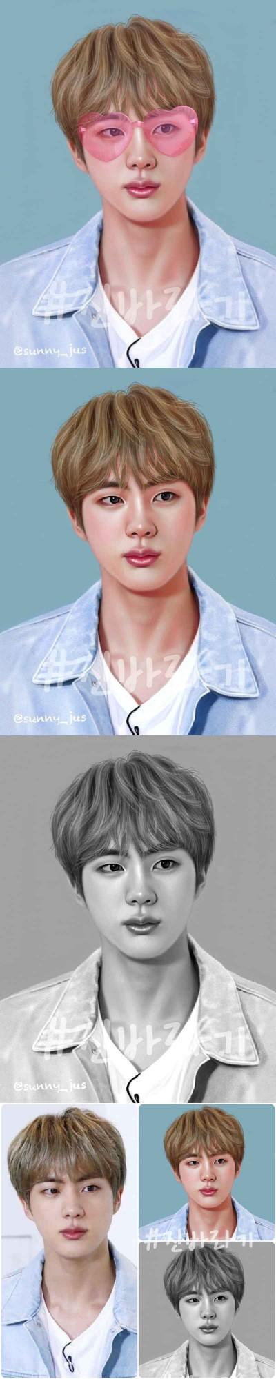 석진♡ | Sunny-jus | Digital Drawing | PENUP