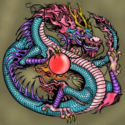 Dragon Art   Sylvia   Digital Drawing   PENUP