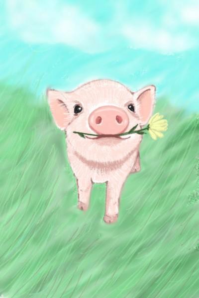 Flower for you darling ♡ | Sylvia | Digital Drawing | PENUP