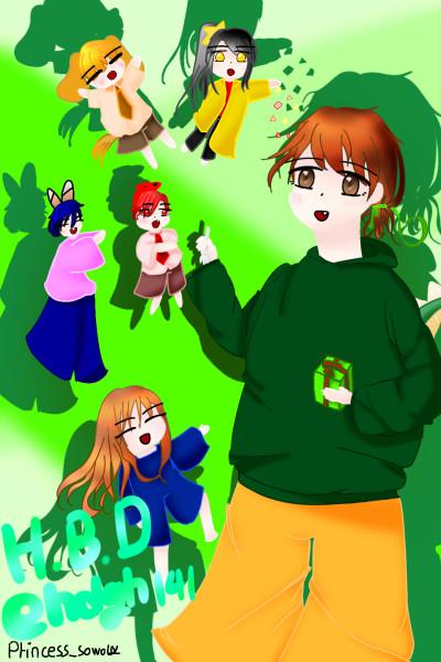 선물상자 넣은 것 | Princess_sowol | Digital Drawing | PENUP
