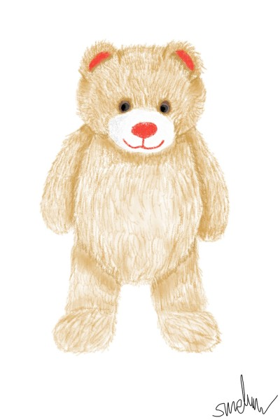 Pop the teddy | GoodForLife | Digital Drawing | PENUP
