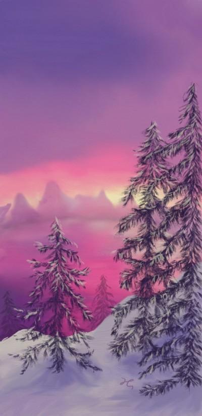 winter    Hanne   Digital Drawing   PENUP