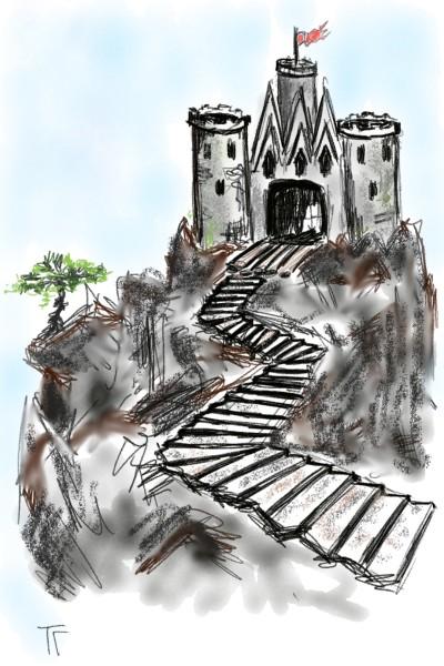 Castle | Tatyana | Digital Drawing | PENUP