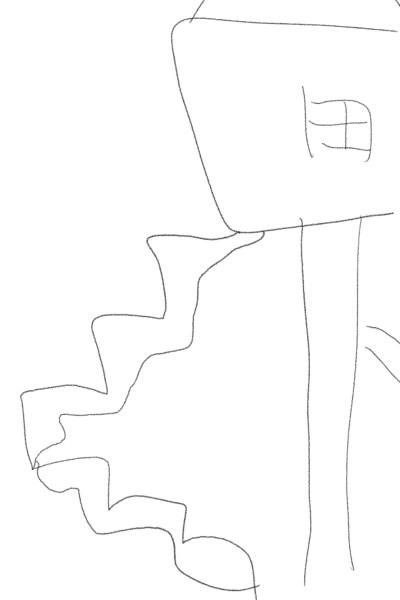 개단이있는 집 | ts_ty1234 | Digital Drawing | PENUP