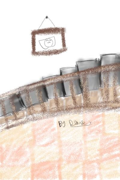 Landscape Digital Drawing | DeniseDrawing | PENUP